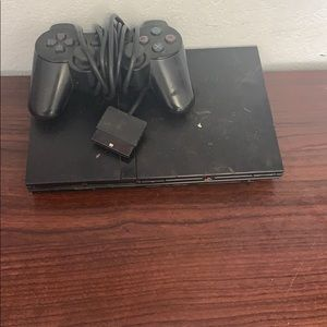 Play station 2 with controller